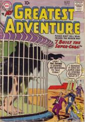 My greatest adventure Vol.1 (DC comics - 1955) -16- I Built the Super-Cage!