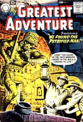 My greatest adventure Vol.1 (DC comics - 1955) -17- We Found the Petrified Man!