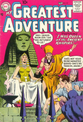 My greatest adventure Vol.1 (DC comics - 1955) -19- I Was Queen of the Ancient Khapirs!