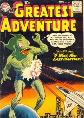 My greatest adventure Vol.1 (DC comics - 1955) -20- I Was the Last Martian!
