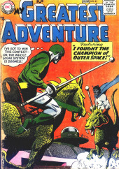 My greatest adventure Vol.1 (DC comics - 1955) -21- I Fought the Champion of Outer Space!