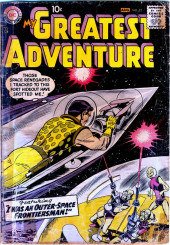My greatest adventure Vol.1 (DC comics - 1955) -22- I Was an Outer-Space Frontiersman!