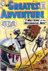 My greatest adventure Vol.1 (DC comics - 1955) -26- I Was King of the Mechanical Men!