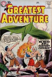 My greatest adventure Vol.1 (DC comics - 1955) -27- We Were 20th Century Cavemen!