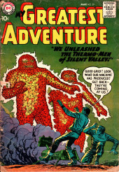 My greatest adventure Vol.1 (DC comics - 1955) -29- We Unleashed the Thermo-Men of Silent Valley!