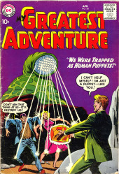 My greatest adventure Vol.1 (DC comics - 1955) -30- We Were Trapped As Human Puppets!