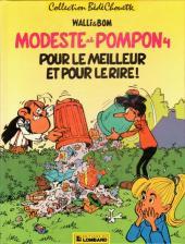 Modeste et Pompon (Walli) -4- Pour le meilleur et pour le rire!