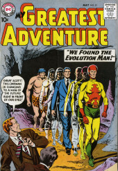 My greatest adventure Vol.1 (DC comics - 1955) -31- We Found the Evolution Man!