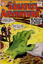 My greatest adventure Vol.1 (DC comics - 1955) -32- We Battled the Hand of Doom!