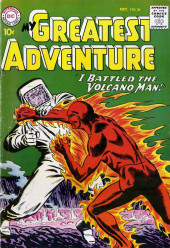 My greatest adventure Vol.1 (DC comics - 1955) -36- I Battled the Volcano Man!