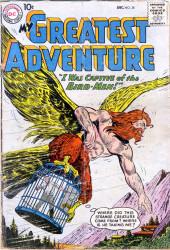 My greatest adventure Vol.1 (DC comics - 1955) -38- I Was Captive of the Bird-Men!