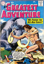 My greatest adventure Vol.1 (DC comics - 1955) -40- We Found the Ice-Age Giant!