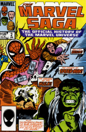 Marvel Saga the Official History of the Marvel Universe (The) (Marvel comics - 1985) -2- Issue # 2