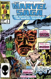 Marvel Saga the Official History of the Marvel Universe (The) (Marvel comics - 1985) -3- Issue # 3