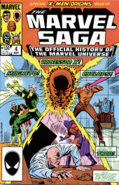 Marvel Saga the Official History of the Marvel Universe (The) (Marvel comics - 1985) -4- Issue # 4