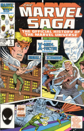 Marvel Saga the Official History of the Marvel Universe (The) (Marvel comics - 1985) -5- More X-Men X-Factor Origins!