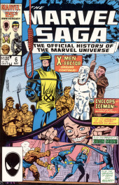 Marvel Saga the Official History of the Marvel Universe (The) (Marvel comics - 1985) -6- X-Men X-Factor Origins Continue!
