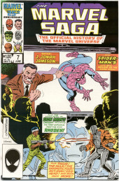 Marvel Saga the Official History of the Marvel Universe (The) (Marvel comics - 1985) -7- Enter: J. Jonah Jameson...