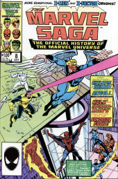 Marvel Saga the Official History of the Marvel Universe (The) (Marvel comics - 1985) -8- Issue # 8