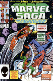Marvel Saga the Official History of the Marvel Universe (The) (Marvel comics - 1985) -9- Issue # 9