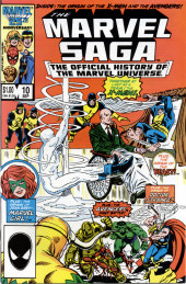 Marvel Saga the Official History of the Marvel Universe (The) (Marvel comics - 1985) -10- Issue # 10