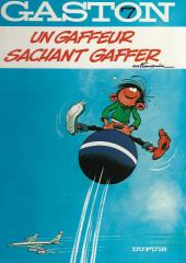 Gaston -7a1984/12- Un gaffeur sachant gaffer