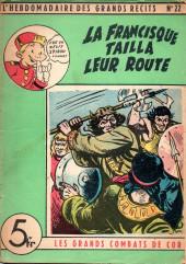 L'hebdomadaire des grands récits -22- La francisque tailla leur route