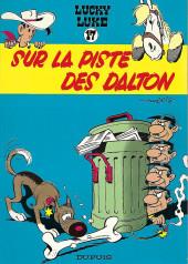 Lucky Luke -17b1983- Sur la piste des Dalton