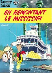 Lucky Luke -16b85- En remontant le Mississipi