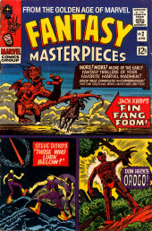 Fantasy Masterpieces Vol.1 (Marvel comics - 1966) -2- Issue # 2