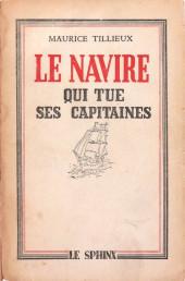 (AUT) Tillieux - Le Navire qui tue ses capitaines