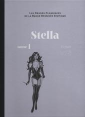 Les grands Classiques de la Bande Dessinée érotique - La Collection -113122- Stella - tome 1