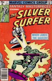 Fantasy Masterpieces Vol.2 (Marvel comics - 1979) -2- When Lands the Saucer!
