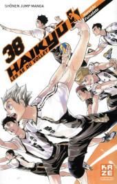Haikyu !! Les As du Volley -38- Task focus