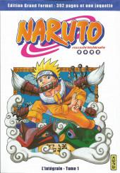 Naruto (Hachette) -1- L'Intégrale - Tome 1