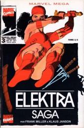 Marvel Méga -3- Elektra saga tome 2/2