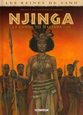 Les reines de sang - Njinga, la lionne du Matamba -1- La lionne du Matamba - 1/2