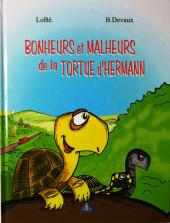 La tortue d'Hermann -1- Bonheurs et malheurs de la tortue d'Hermann