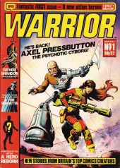 Warrior (Quality comics - 1982) -1- Issue # 1