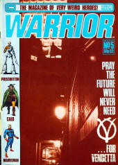 Warrior (Quality comics - 1982) -5- Issue # 5