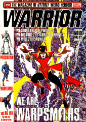 Warrior (Quality comics - 1982) -10- Issue # 10