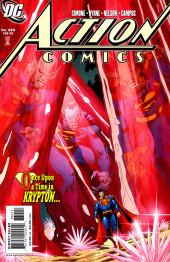 Action Comics (DC Comics - 1938) -834- Awake in the dark