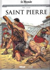 Les grands Personnages de l'Histoire en bandes dessinées -44- Saint pierre