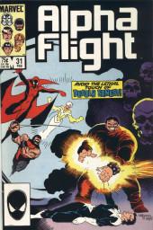 Alpha Flight (Marvel comics - 1983) -31- The Grateful Dead!