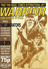 Warrior (Quality comics - 1982) -HS- Warrior 1996 Spring Special