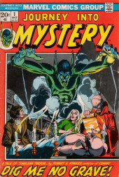 Journey into Mystery Vol. 2 (Marvel - 1972) -1- Dig Me No Grave!