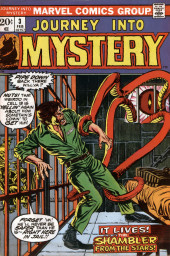 Journey into Mystery Vol. 2 (Marvel - 1972) -3- The Shambler from the Stars!
