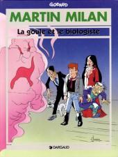 Martin Milan (2e Série) -13- La goule et le biologiste