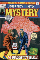 Journey into Mystery Vol. 2 (Marvel - 1972) -5- The Shadow from the Steeple!