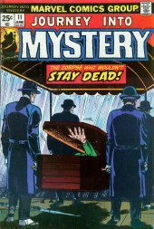 Journey into Mystery Vol. 2 (Marvel - 1972) -11- The Corpse Who Wouldn't Stay Dead!